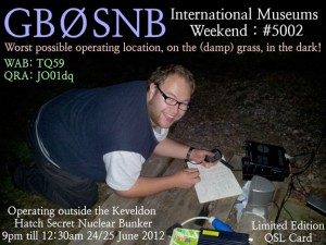 Limited Edition QSL Card