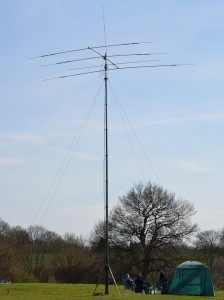 Higher HF bands QRV via Spencer M0STO's yagi
