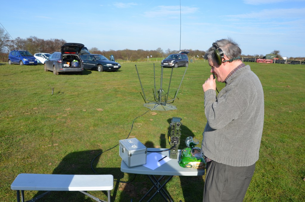Steve G8PMU works some nice DX on 4 metres with Clansman