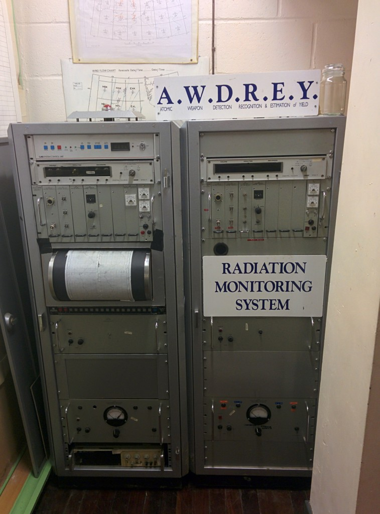 AWDREY Radiation Monitoring System